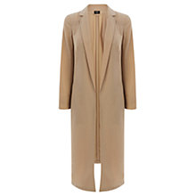 Buy Oasis Smart Duster Coat, Camel Online at johnlewis.com