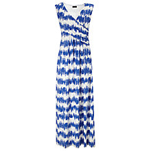 Buy Phase Eight Briony Striped Maxi Dress, Blue/White Online at johnlewis.com