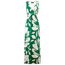 Buy Phase Eight Katia Maxi Dress, Green/Ivory Online at johnlewis.com