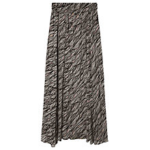 Buy Gerard Darel Ancora Long Skirt, Ecru Online at johnlewis.com