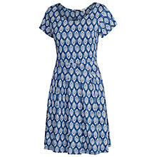 Buy Fat Face Kew Rachita Dress, Dark Chambray Online at johnlewis.com