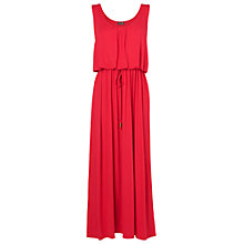 Buy Phase Eight Bella Blouson Maxi Dress, Geranium Online at johnlewis.com
