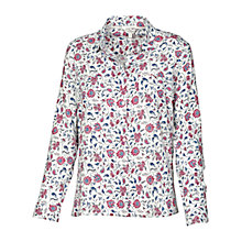 Buy Fat Face Farly Indian Garden Shirt, Ivory Online at johnlewis.com