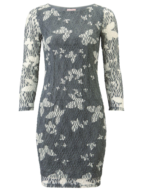 phase eight bernie mesh tunic dress grey/white, phase, eight, bernie, mesh, tunic, dress, grey/white, phase eight, 18|16|8|14|10|12, women, womens dresses, fashion magazine, brands l-z, inactive womenswear, 1915520