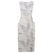 Buy Whistles Bamboo Print Honu Dress, Grey Online at johnlewis.com