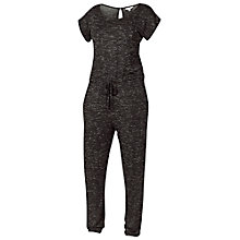 Buy Fat Face Jersey Nep Jumpsuit, Phantom Online at johnlewis.com