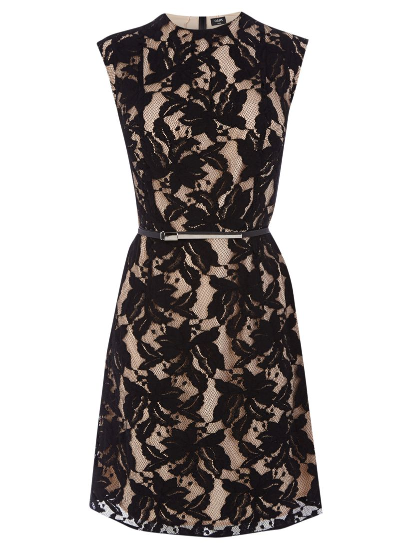 oasis erin lace shift dress black, oasis, erin, lace, shift, dress, black, 16|10|12|14|8, women, womens dresses, 1915204