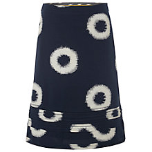 Buy White Stuff Ring Print Skirt, Dark Oyster Online at johnlewis.com