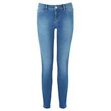 Buy Oasis Sicily Wash Jade Crop Jeans, Denim Online at johnlewis.com