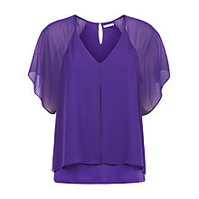 Buy Kaliko Chiffon Layered Blouse Online at johnlewis.com