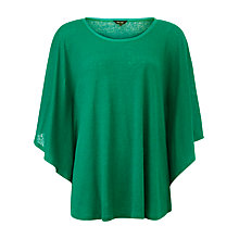 Buy Phase Eight Louise Linen Top, Green Online at johnlewis.com