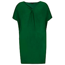Buy Phase Eight Twist Knit Top, Emerald Online at johnlewis.com