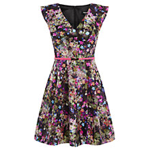Buy Oasis Annabel Skater Dress, Multi Online at johnlewis.com