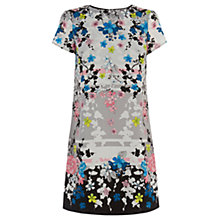 Buy Oasis Oriental Blossom Placement Shift, Multi Online at johnlewis.com