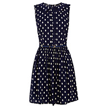 Buy Oasis Tear Drop Dress, Navy Online at johnlewis.com