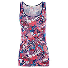 Buy Oasis Huddle Ditsy Print Vest, Multi Online at johnlewis.com
