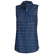 Buy Fat Face Ride Patchwork Amana Shirt, Navy Online at johnlewis.com