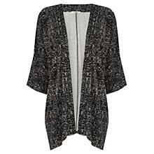 Buy Oasis Mono Print Kimono, Multi Online at johnlewis.com