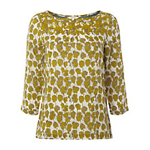 Buy White Stuff Rhodes Top, Pineapple Online at johnlewis.com