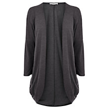 Buy Oasis Longline Cocoon Cardigan, Mid Grey Online at johnlewis.com