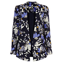 Buy Oasis Shadow Orchid Soft Blazer, Multi Online at johnlewis.com