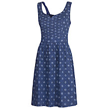 Buy Fat Face Skye Amana Dress, Navy Online at johnlewis.com
