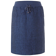 Buy White Stuff Plain Jane Linen Skirt, Oyster Blue Online at johnlewis.com