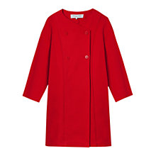 Buy Gerard Darel Aurelien Coat, Red Online at johnlewis.com