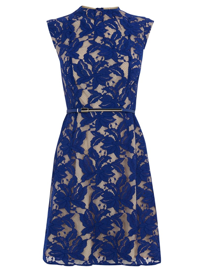 oasis erin lace shift dress rich blue, oasis, erin, lace, shift, dress, rich, blue, 8|12|16|14|10, women, womens dresses, 1915463