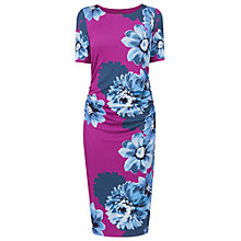 Buy Phase Eight Fraya Placement Floral Dress, Petunia Online at johnlewis.com