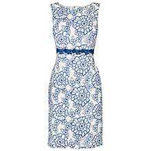 Buy Phase Eight Kirsten Floral Dress, White/Blue Online at johnlewis.com