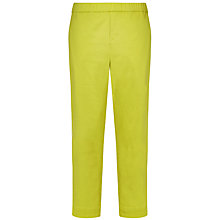 Buy Windsmoor Cropped Trousers, Citrus Online at johnlewis.com