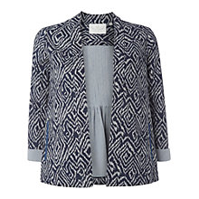 Buy White Stuff Summer Breeze Ikat Jacket, Navy Online at johnlewis.com