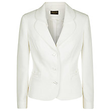 Buy Precis Petite Tailored Jacket, Ivory Online at johnlewis.com