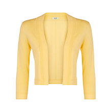 Buy Precis Petite Knit Shrug, Bright Yellow Online at johnlewis.com