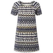 Buy White Stuff Cotton Woodblock Tunic Dress, , Multi Online at johnlewis.com