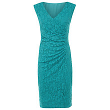 Buy Planet Turquoise Lace Dress, Mid Blue Online at johnlewis.com