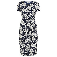 Buy Precis Petite Floral Printed Dress, Multi Dark Online at johnlewis.com