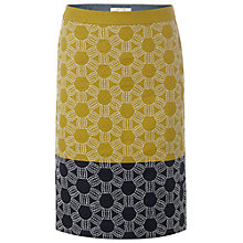 Buy White Stuff Spot Flower Cotton Skirt, Pineapple Online at johnlewis.com
