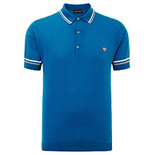 Buy John Smedley Cambourne Slim Fit Polo Shirt, Lapis Blue Online at johnlewis.com