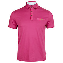 Buy Ted Baker Grainyo Grosgrain Cotton Polo Shirt Online at johnlewis.com