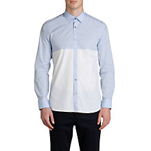 Buy Ted Baker Pannell Colour Block Shirt Online at johnlewis.com