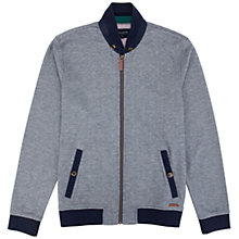 Buy Ted Baker Ansomme Oxford Cotton Jacket, Navy Online at johnlewis.com
