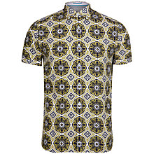 Buy Ted Baker Evafter Tile Print Short Sleeve Shirt Online at johnlewis.com