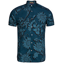 Buy Ted Baker Flowley Graphic Floral Short Sleeve Shirt Online at johnlewis.com