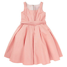Buy Jigsaw Junior Girls' Sparkle Dress, Peach Online at johnlewis.com