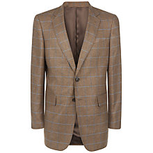 Buy Jaeger Silk Overcheck Classic Jacket Online at johnlewis.com