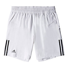 Buy Adidas Response Tennis Shorts, White Online at johnlewis.com