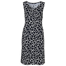 Buy Betty Barclay Graphic Print Dress, Black / White Online at johnlewis.com