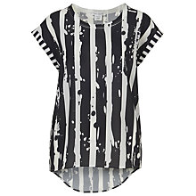 Buy Betty Barclay Printed Top, Black / White Online at johnlewis.com